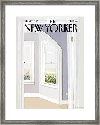 New Yorker May 27th, 1985 Framed Print