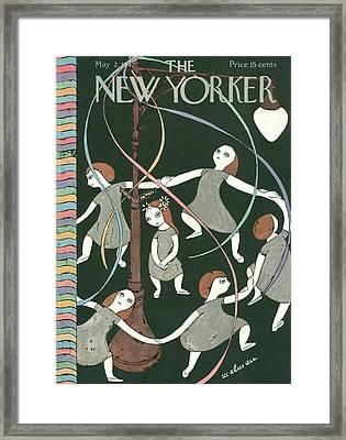 New Yorker May 2nd, 1942 Framed Print by Christina Malman