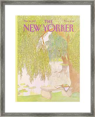 New Yorker May 30th, 1983 Framed Print