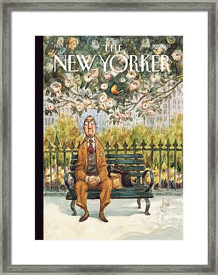 New Yorker May 30th, 2005 Framed Print by Peter de Seve