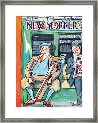New Yorker May 31st, 1930 Framed Print by Peter Arno