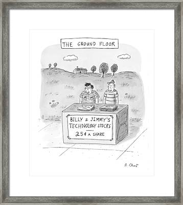 New Yorker May 31st, 1999 Framed Print