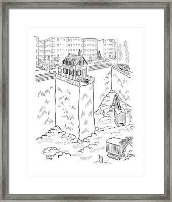New Yorker May 3rd, 1941 Framed Print by Robert J. Day