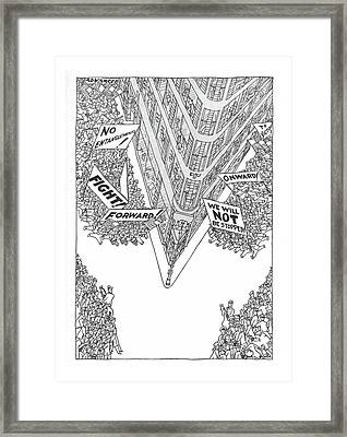 New Yorker May 4th, 1940 Framed Print
