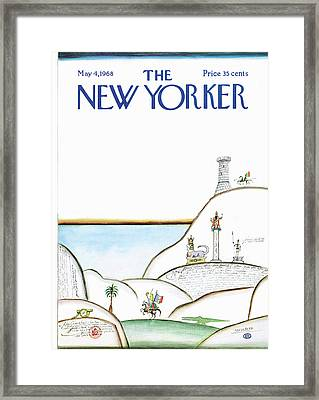New Yorker May 4th, 1968 Framed Print