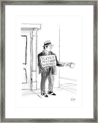 New Yorker May 4th, 1987 Framed Print
