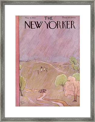 New Yorker May 6th, 1933 Framed Print by Richard Decker