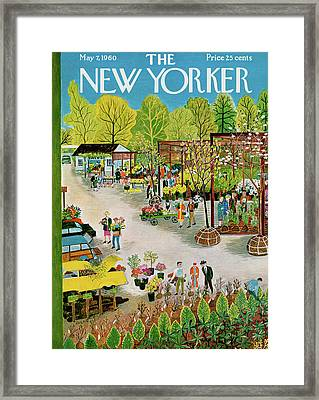 New Yorker May 7th, 1960 Framed Print