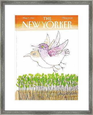 New Yorker May 7th, 1984 Framed Print by Joseph Low