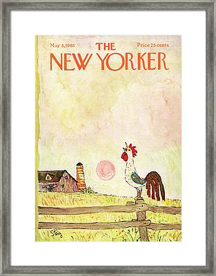New Yorker May 8th, 1965 Framed Print