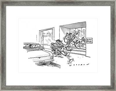 New Yorker May 8th, 1978 Framed Print by Bill Woodman