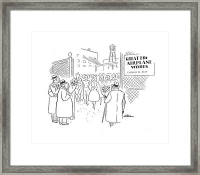 New Yorker May 9th, 1942 Framed Print by  Alain