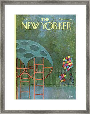 New Yorker May 9th, 1970 Framed Print