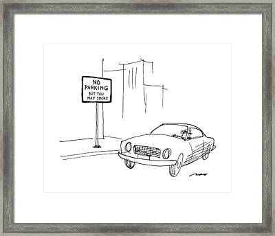 New Yorker May 9th, 1988 Framed Print by Al Ross