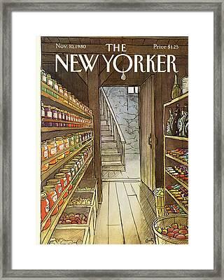 New Yorker November 10th, 1980 Framed Print by Arthur Getz