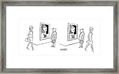 New Yorker November 13th, 1965 Framed Print by Mischa Richter