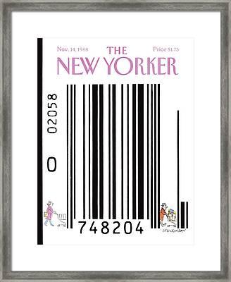 New Yorker November 14th, 1988 Framed Print by James Stevenson