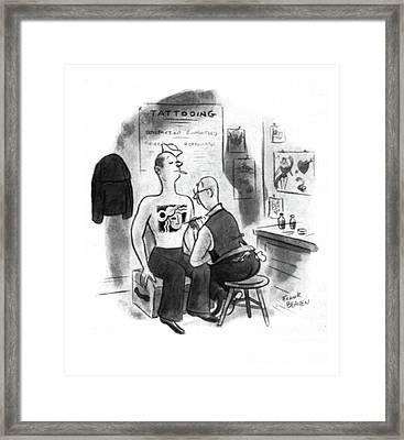 New Yorker November 15th, 1941 Framed Print