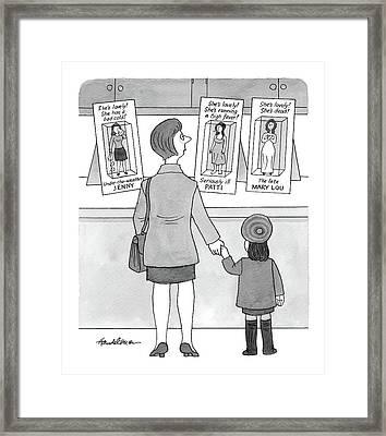 New Yorker November 15th, 1999 Framed Print by J.B. Handelsman