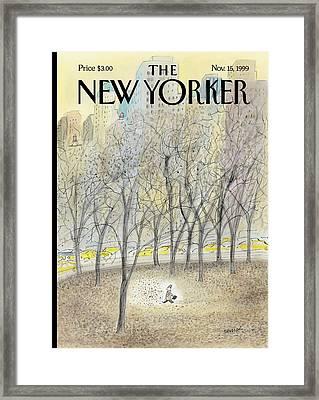 New Yorker November 15th, 1999 Framed Print