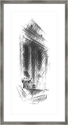 New Yorker November 16th, 1940 Framed Print by John Milligan