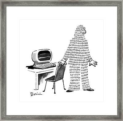 New Yorker November 16th, 1987 Framed Print by Eldon Dedini