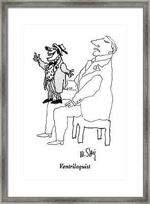 New Yorker November 17th, 1986 Framed Print