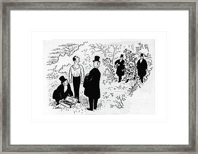 New Yorker November 18th, 1944 Framed Print by  Alain