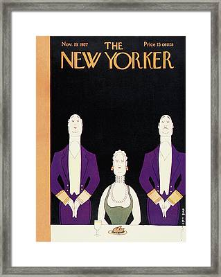 New Yorker November 19th, 1927 Framed Print