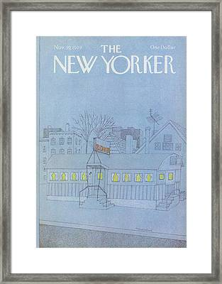 New Yorker November 19th, 1979 Framed Print by Marisabina Russo