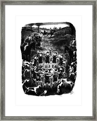 New Yorker November 1st, 1941 Framed Print by Richard Decker