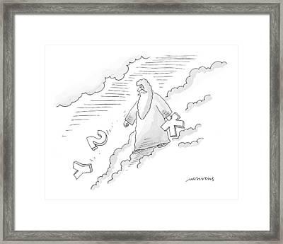 New Yorker November 1st, 1999 Framed Print
