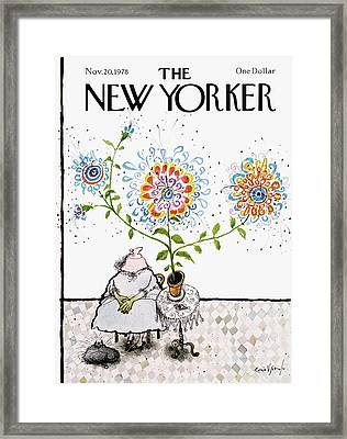New Yorker November 20th, 1978 Framed Print