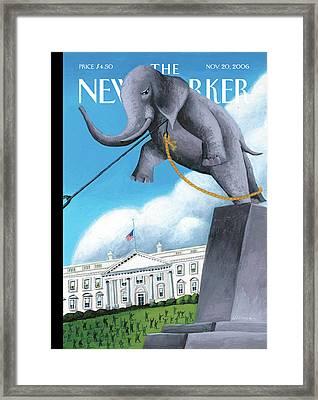New Yorker November 20th, 2006 Framed Print