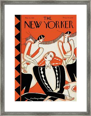 New Yorker November 21st, 1925 Framed Print by Stanley W. Reynolds