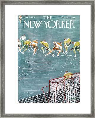 New Yorker November 21st, 1959 Framed Print