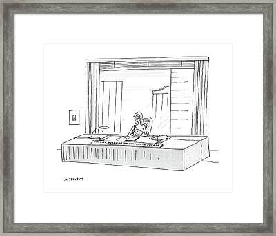 New Yorker November 21st, 1988 Framed Print by Mick Stevens