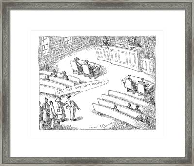 New Yorker November 22nd, 1999 Framed Print by John O'Brien