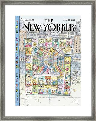 New Yorker November 22nd, 1999 Framed Print