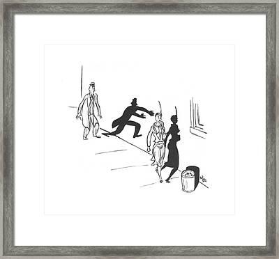 New Yorker November 23rd, 1940 Framed Print by Ned Hilton