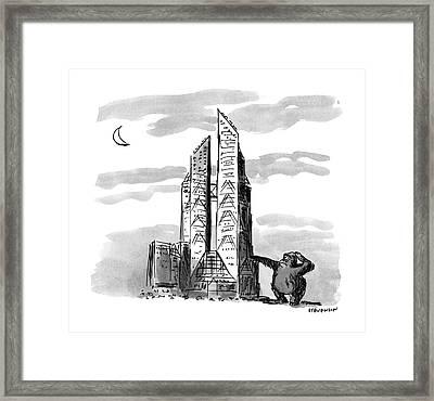 New Yorker November 23rd, 1987 Framed Print by James Stevenson