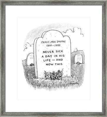 New Yorker November 23rd, 1992 Framed Print by Mike Twohy