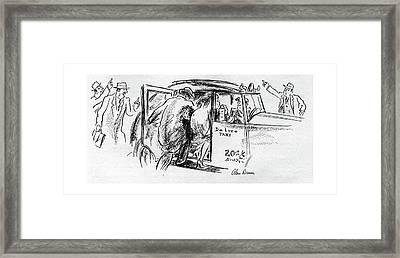 New Yorker November 25th, 1944 Framed Print