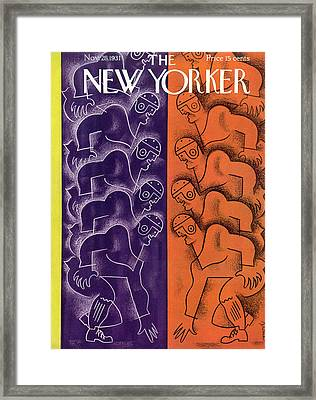 New Yorker November 28th, 1931 Framed Print