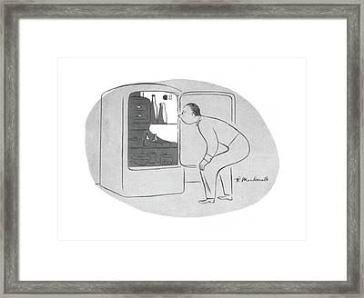 New Yorker November 28th, 1942 Framed Print by Roberta Macdonald