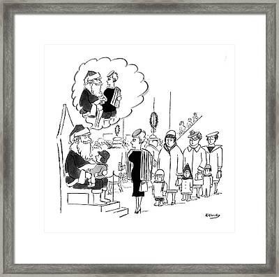 New Yorker November 28th, 1959 Framed Print