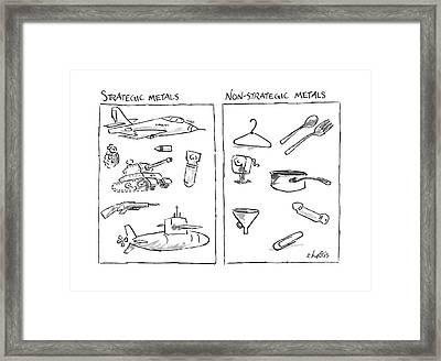 New Yorker November 28th, 1988 Framed Print by Sidney Harris