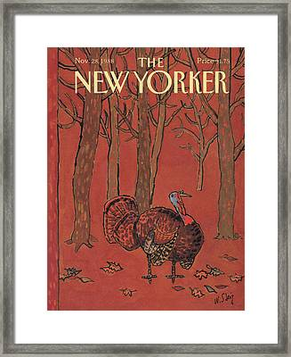 New Yorker November 28th, 1988 Framed Print