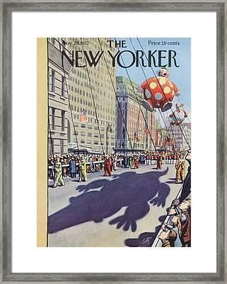 New Yorker November 29th, 1952 Framed Print