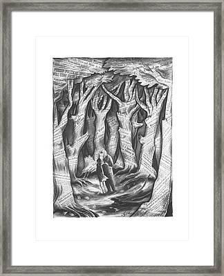 New Yorker November 2nd, 1940 Framed Print by Constantin Alajalov